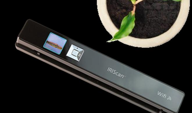 IRIScan WiFi-Scanner: Hosentaschen-Scanner scannt ohne Rechner oder über eine iOS-App