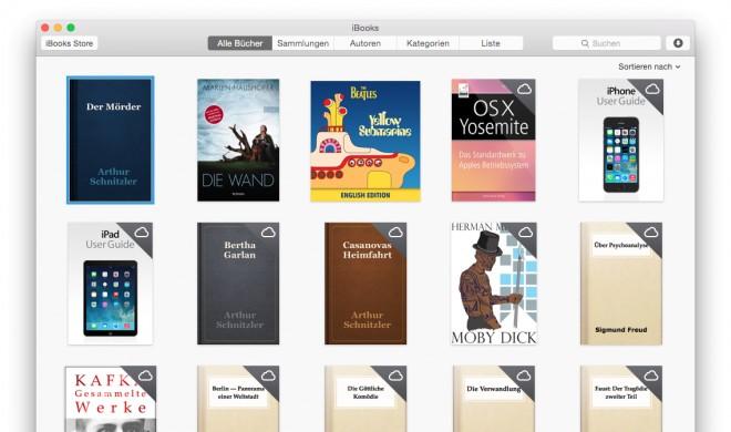 iBooks leicht gemacht – So gut ist Apples E-Book-Software für den Mac