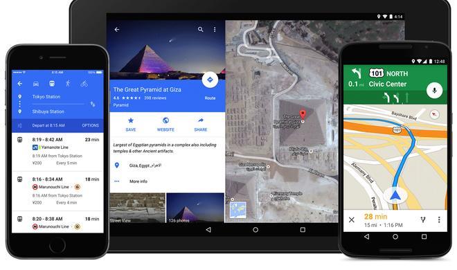 Google Maps: Neue App für iOS im Material-Design