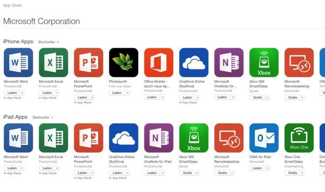 Kostenlose Office-Apps für iOS & Android: Microsoft erlaubt weitestgehend kostenfreie Nutzung