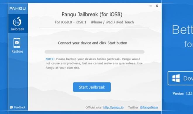 Neuer Jailbreak auch für iOS 8 und iOS 8.1. erhältlich