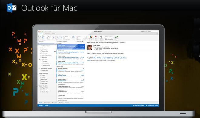 Das neue Microsoft Outlook für den Mac ist da – allerdings nur für Office 365
