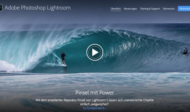 Adobe Lightroom 5.7 übernimmt Daten von Aperture und iPhoto