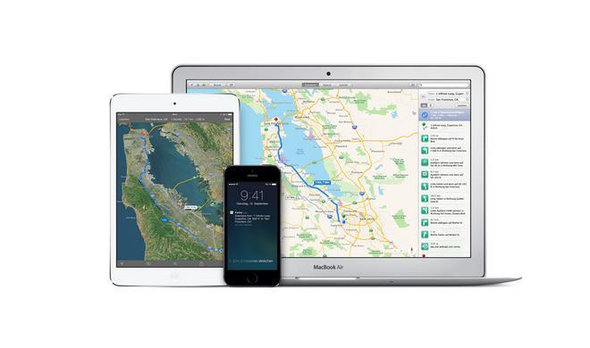Apple Maps ersetzt Google Maps nun auch in iCloud