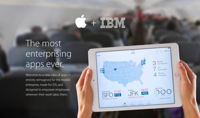 Apple & IBM enthüllen 10 spezielle und nützliche Business-Apps