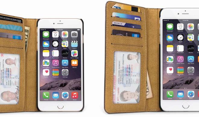 Brieftasche fürs iPhone 6 und iPhone 6 Plus