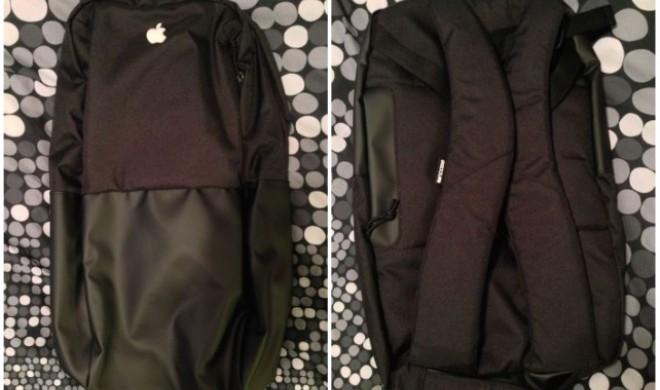 Apple verschenkt Rucksack an Mitarbeiter: Ein Modell bereits auf eBay verkauft
