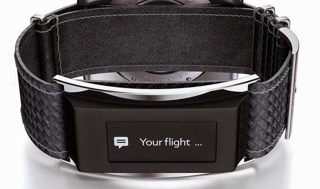 """Apple-Watch-Konkurrenz: Uhren-Hersteller Montblanc stellt smartes Armband """"e-Strap"""" vor"""