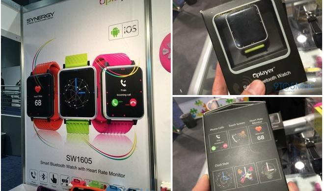 Apple-Watch-Klon auf CES aufgetaucht: Oplayer-Smartwatch mit iOS und Android kompatibel