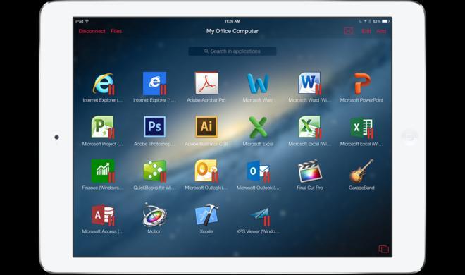 Finder und Windows Explorer auf iPad und iPhone: Parallels Access 2.5 mit verbessertem Dateimanager