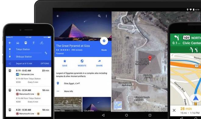 Google Maps 4.2.0: Restaurants nach Art der Küche filtern und das Wetter in weltweiten Städten anzeigen