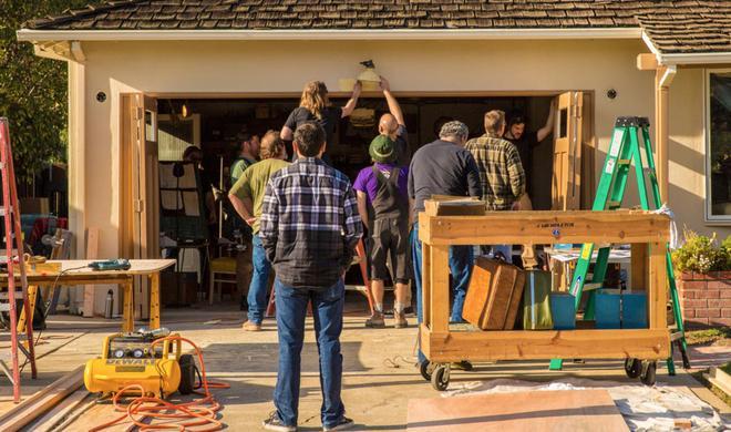 Steve-Jobs-Film: Dreharbeiten haben begonnen – in der Garage in der alles anfing