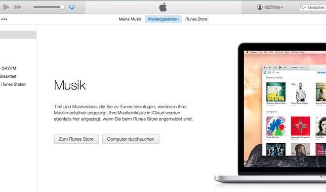 iTunes Teil 1: Musik am Mac verwalten