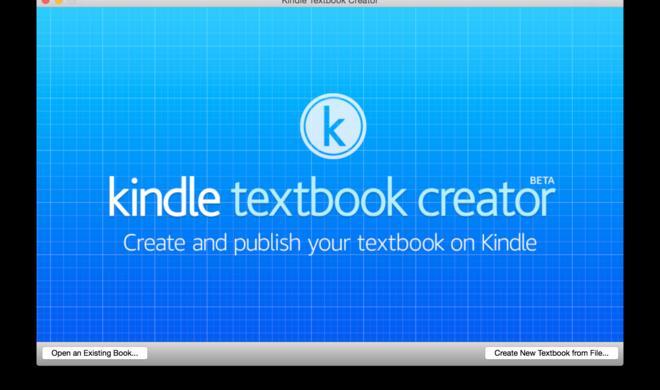 """Amazon startet zaghaften Angriff auf iBooks Author: Äquivalent """"Textbook Creator"""" jetzt gratis testen"""