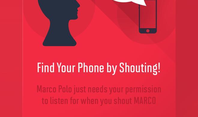 Marco Polo: App spürt iPhone per Zurufen auf - witzige Alternative zu Find my iPhone