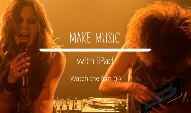 Neuer iPad-Werbespot: Das iPad als Misch-Pult und Filmkamera - das Apple Tablet hat doch mehr Nutzen als viele vermuten