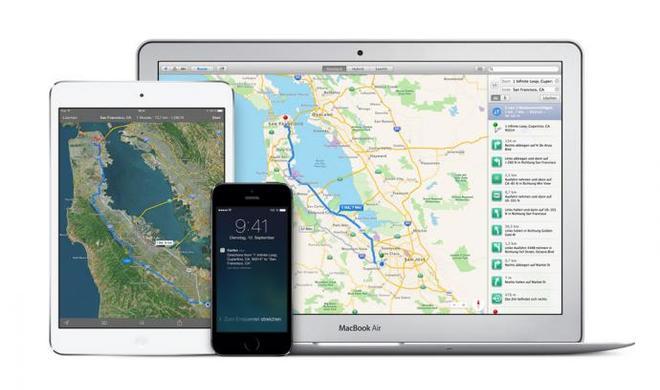 Karten: Apple Maps Connected wohl bald auch für deutschsprachige Länder verfügbar