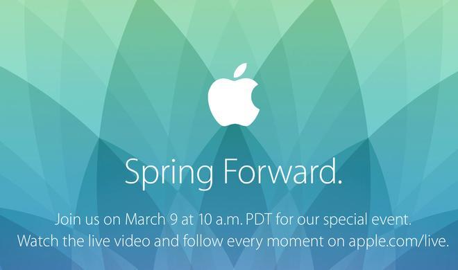 Offiziell bestätigt: Apple Watch Event am 9.3. inklusive Livestream