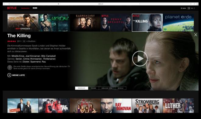 Netflix, Watchever & Co.: Die besten Film- und Serientipps zum Wochenende - von The Killing bis Hannibal Lecter
