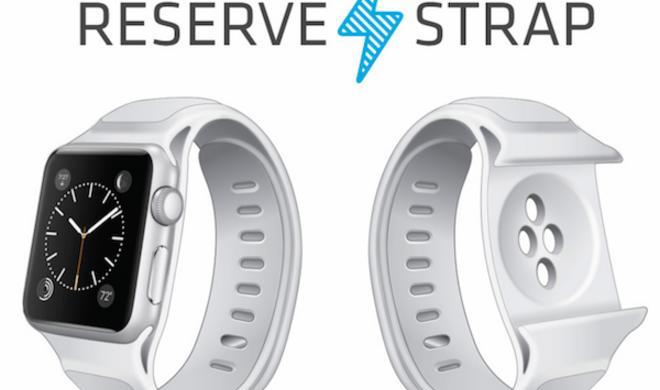 Das erste Akku-Armband für die Apple Watch - wegen ihrer kurzen Laufzeit