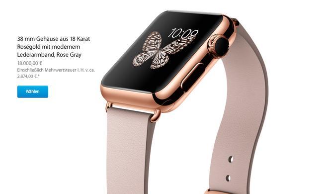 Apple Watch-Klone aus China schon jetzt im Angebot: Weniger für verwechselbares Design zahlen