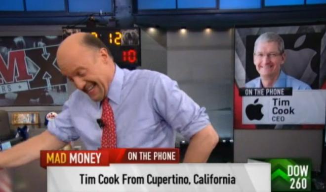 Bei Anruf Tim Cook: Apple CEO meldet sich als Anrufer in US-Fernseh-Show zu Wort