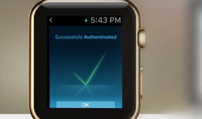 Apple Watch soll Passwörter komplett ersetzen