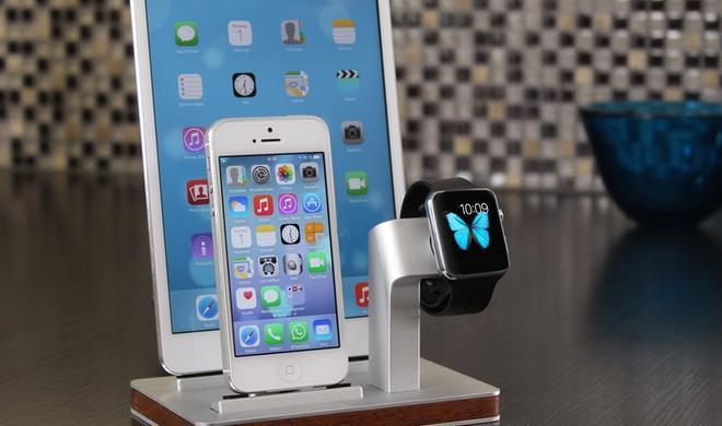 Apple Watch-Ladestation eignet sich auch für iPhone und iPad