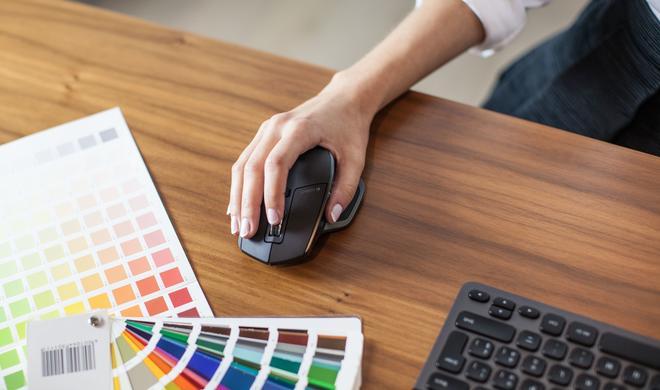 Logitech: MX Master vereint Maus mit Trackpad und verbindet sich mit bis zu drei Geräten