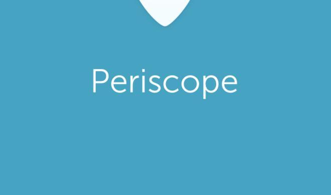 Periscope macht Nutzer zum Live-Reporter: Weg vom Standbild und hin zu Videos als Social Media Trend der Zukunft
