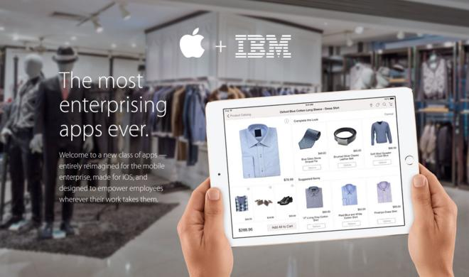 IBM & Apple veröffentlichen weitere gemeinsame iOS-Apps