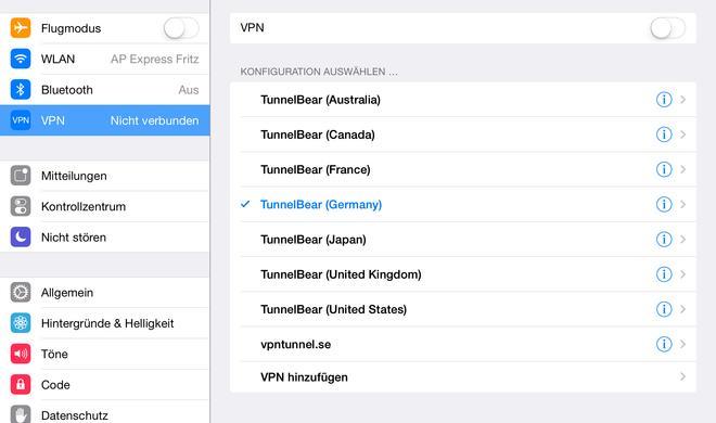 iPad: Sicherheit in öffentlichen WLAN-Hotspots