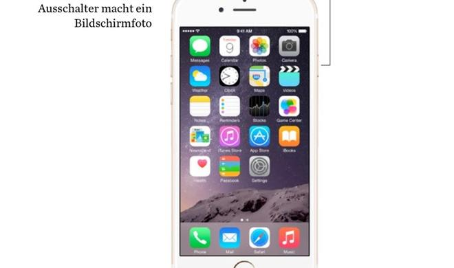 iPhone: Screenshot oder Bildschirmfoto aufnehmen