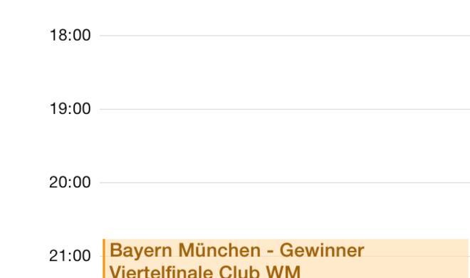 iPhone: Kalender mir Ferienterminen und Bundesligaspielen abonnieren