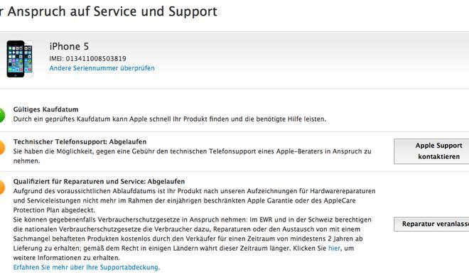 iPhone: Garantie und Gewährleistung in Deutschland