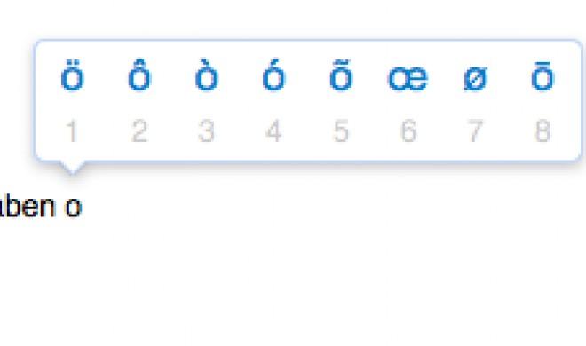 OS X Yosemite: Diakritische Zeichen oder Sonderzeichen eingeben