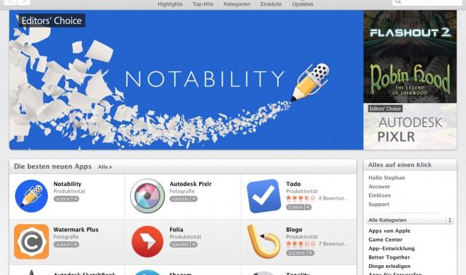 OS X Yosemite: Programme installieren und löschen