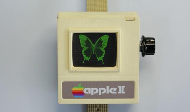 Apple II statt Apple Watch: Apples Retro-Computer für das Handgelenk zum Nachbauen