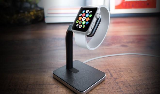 Apple Watch: Dock lässt die Uhr auch während des Ladens gut aussehen