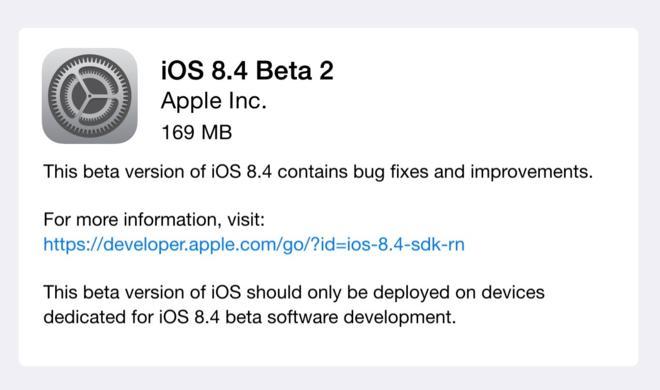 iOS 8.4 Beta 2 veröffentlicht: Das sind die wichtigsten Verbesserungen der ersten Public-Beta dieses Updates