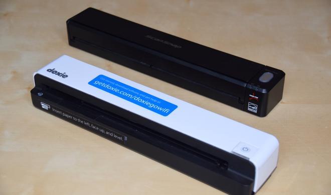 ScanSnap iX100 vs. Doxie Go Wi-Fi im Vergleichstest: Das Duell der Giganten unter den portablen Einzugsscanner