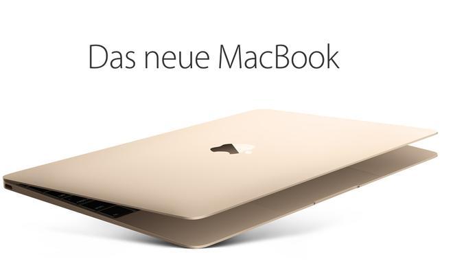 MacBook 12 Zoll: Die ersten Retail Stores in Deutschland führen seit heute das Apple Laptop