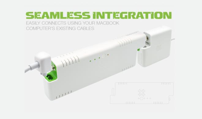 MacBook Pro und MacBook Air: Elegantes und praktisches Akku-Pack für Apples Notebooks