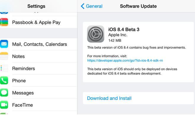 iOS 8.4 Beta 3 erschienen: Diese Funktionen erwarten Sie in der überarbeiteten Musik-App