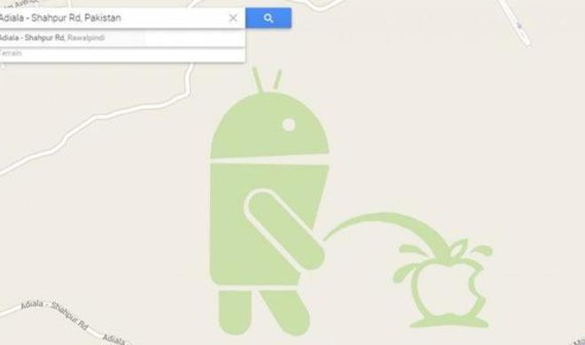 Google stellt Map Maker-Dienst bis auf Weiteres ein: Diese provokante Zeichnung ist der Grund für die Zwangspause