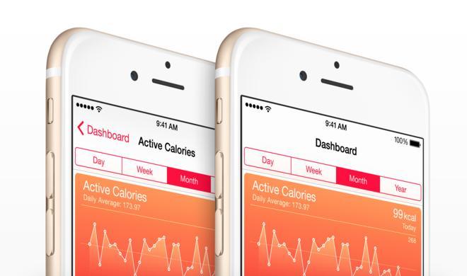 HealthDash zeigt Health-Daten auf der Apple Watch
