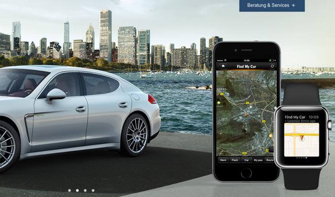 BMW, VW, Mercedes, Porsche & Tesla.: Luxus-Smartwatch-Apps für 5 Nobelkarossen im Überblick - Knight Rider lässt grüßen