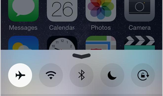 In iOS 8.3 bleibt das GPS bei eingeschaltetem Flugmodus an