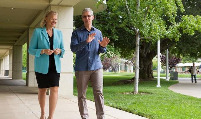 IBM-Mitarbeiter sollen bald ein MacBook als Firmennotebook erhalten