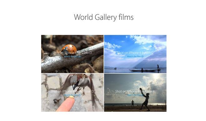 """iPhone 6: Apple erweitert Kamera-Kampagne """"Shot on iPhone 6"""" um 7 Videos mit coolen Effekten"""